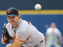 Barry Zito and Giants Shut Down Dodgers