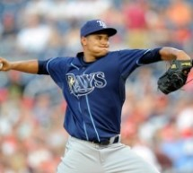 Chris Archer to Start for Tampa Bay Rays against Cleveland Indians