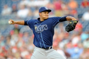 Rays Chris Archer Debut