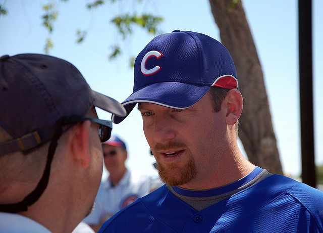 Dempster, after turning down a move to the Braves, accepted an eleventh-hour trade to the Texas Rangers Tuesday (andysternberg / flickr)