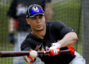 Giancarlo Stanton Making Progress: Takes Batting Practice
