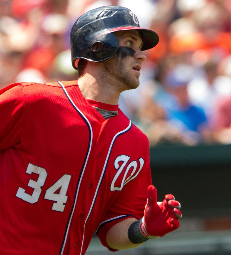 Bryce Harper Washington Nationals MLB (CC Keith Allison - flickr)
