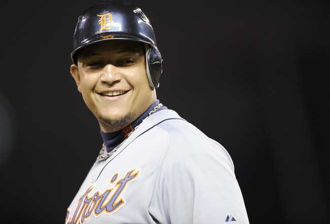 Miguel Cabrera Muscles up Against Oakland – 2 HRs 6 RBI Miguel Cabrera Muscle