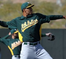 A's Michael Ynoa Trying to Impress in First Big League Spring Training