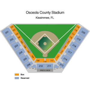 astros spring seating