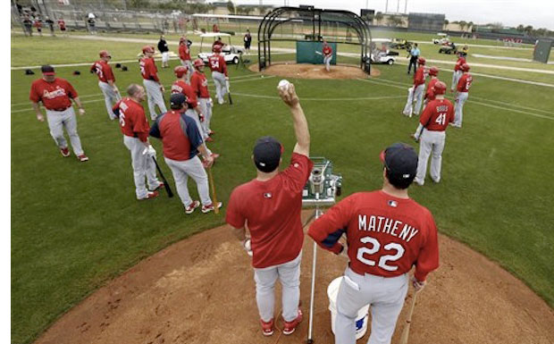St Louis Cardinals Spring training