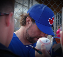Blue Jays News: R.A.Dickey Surrenders Two Runs in Spring Debut