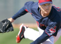 Scott Kazmir K&#8217;s 10, Solid For Indians Against A&#8217;s