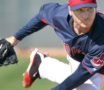 Scott Kazmir K's 10, Solid For Indians Against A's