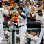 Houston Astros Bats Wake Up With Five Home Runs, 22 Hits