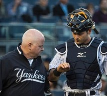 Yankees Francisco Cervelli Out With Broken Hand, Nova With Elbow Pain