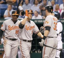 AL Scores: Davis Powers O's, Guthrie K's 9, Twins Pile On Late