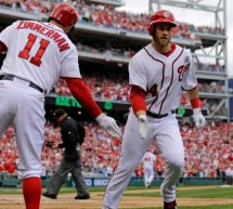 Bryce Harper Homers Twice To Back Stephen Strasburg in Win