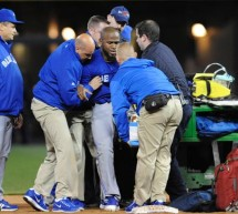 Toronto Blue Jays Lose Jose Reyes For 1-3 Months With Ankle Injury