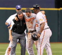 Brian Roberts Will Miss 2-4 weeks with Ruptured Knee Tendon