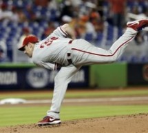 Cliff Lee Shuts Down Miami in 3-0 Victory