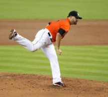 Ricky Nolasco Fans 11 to End Miami Marlins Skid