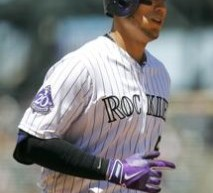 Carlos Gonzalez Homers, Triples in Rockies Win