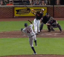 Chris Dickerson Walk Off Homer Caps Comeback for Orioles (Video)