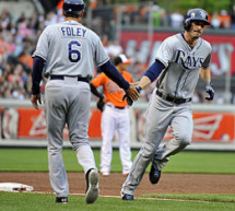 Matt Joyce, Rays Rally For Six Runs In Ninth To Stun Baltimore