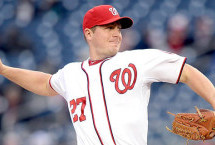 Jordan Zimmermann First to 8 Wins in NL
