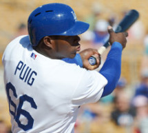 Dodgers Yasiel Puig Named NL Player of Week
