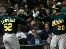 Josh Donaldson Slam Leads A's Past Sale and the White Sox