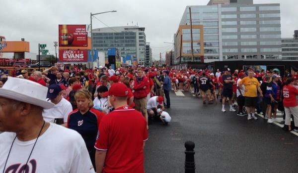 Harper Bobblehead crowds