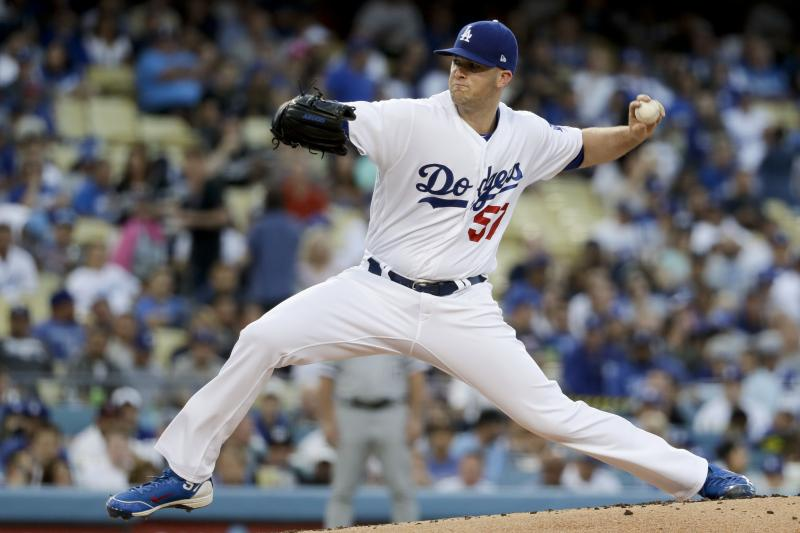 Los Angeles Dodgers Alex Wood Has Shoulder Inflammation