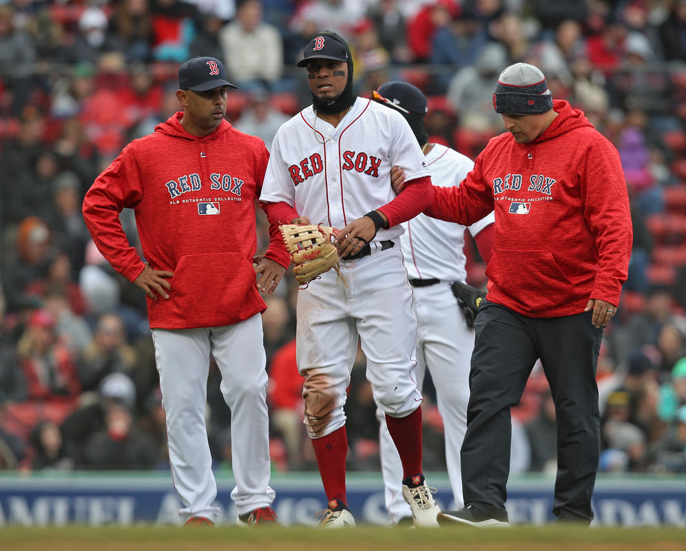 Red Sox place Xander Bogaerts on 10-day DL with ankle injury